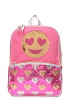 Reversible Sequin Emoji Backpack