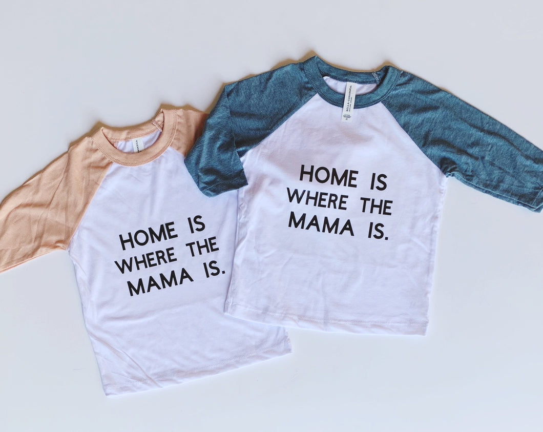 HOME Toddler Baseball Tee