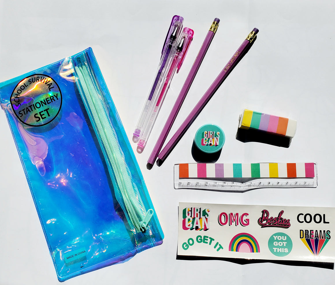 16 PC COOL STATIONERY SET