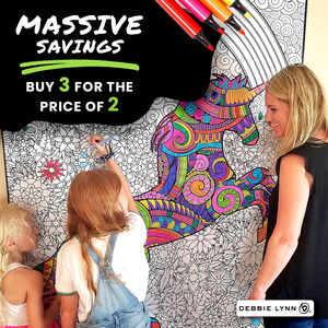 "BLACK FRIDAY SPECIAL: 3 HUGE 48"" X 63"" FOLDED POSTERS FOR THE PRICE OF 2 PLUS EXTRA GIFTS"