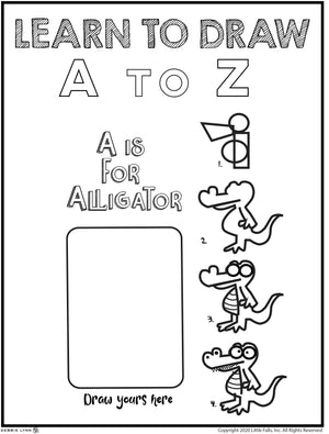 LEARNING TO DRAW A TO Z