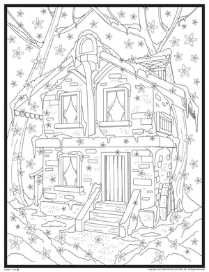 WINTER COLORING BOOK (30 DOWNLOADABLE PAGES)