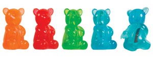 GUMMY BEAR SHARPENER + ERASER