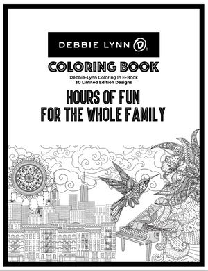 Debbie-Lynn Coloring In E-Book 30 Limited Edition Designs