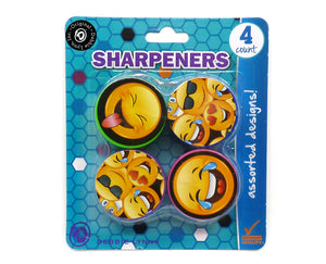 4ct Smiley Sharpeners