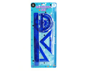 5ct Geometry Ruler Set