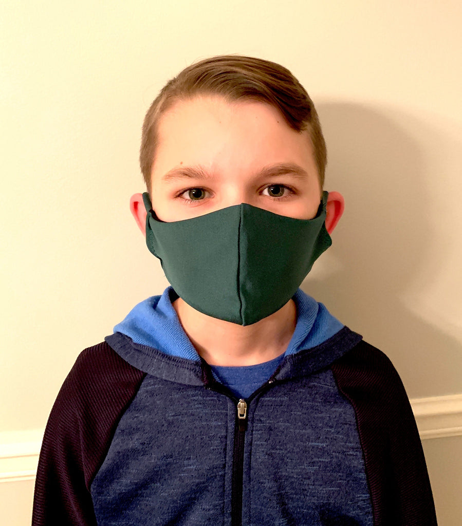 Kid's Size Face Cover Mask with Removable/Washable Filter
