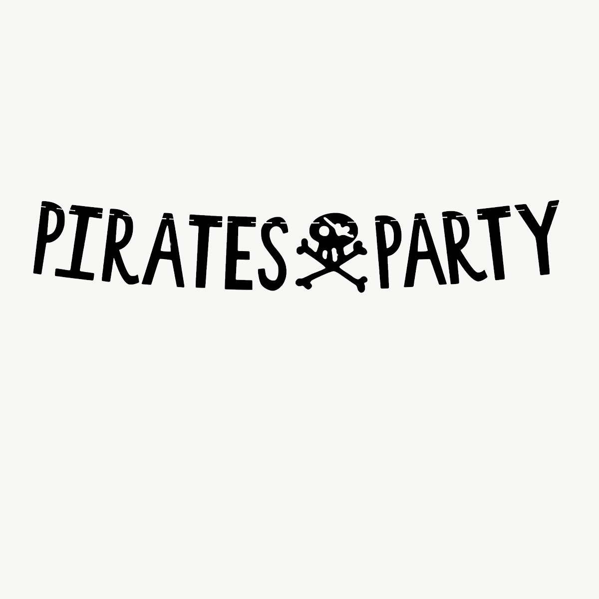 Guirlande Pirate Party