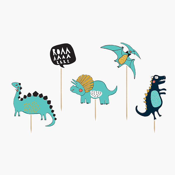 Toppers 4 dinosaures