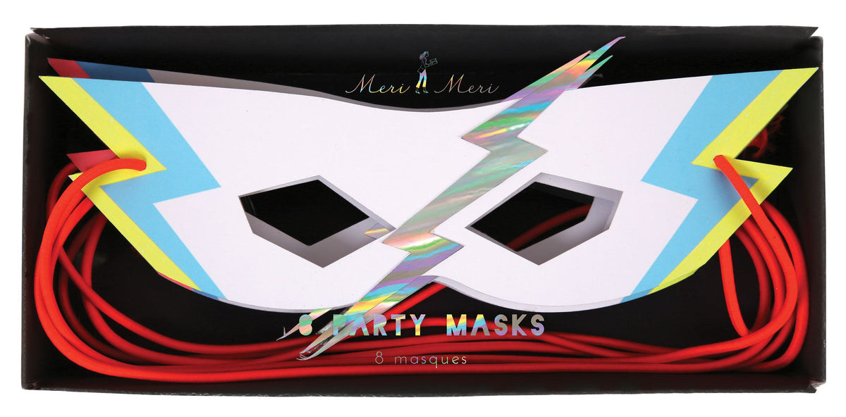 Super-Hero masks x8