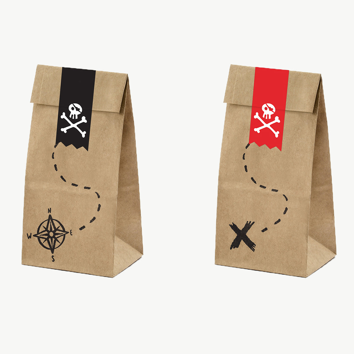 Sachets pirate x6