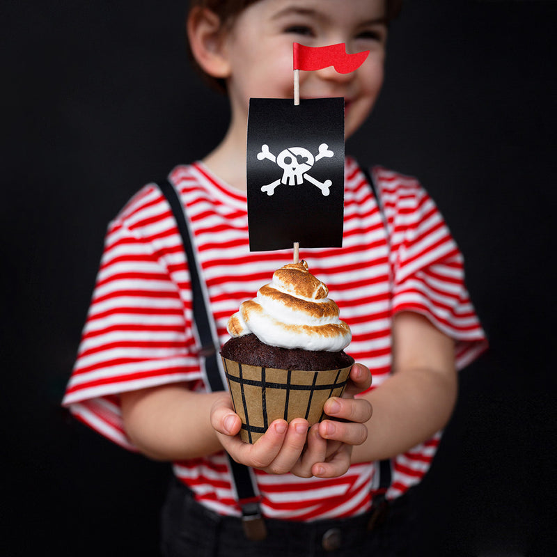 Kit à cupcakes pirate