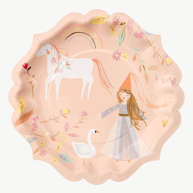 Assiettes princesse x8