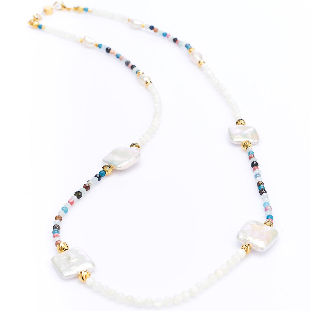 BAROQUE PEARL & MIX GEMS - Rainbow Notting Hill