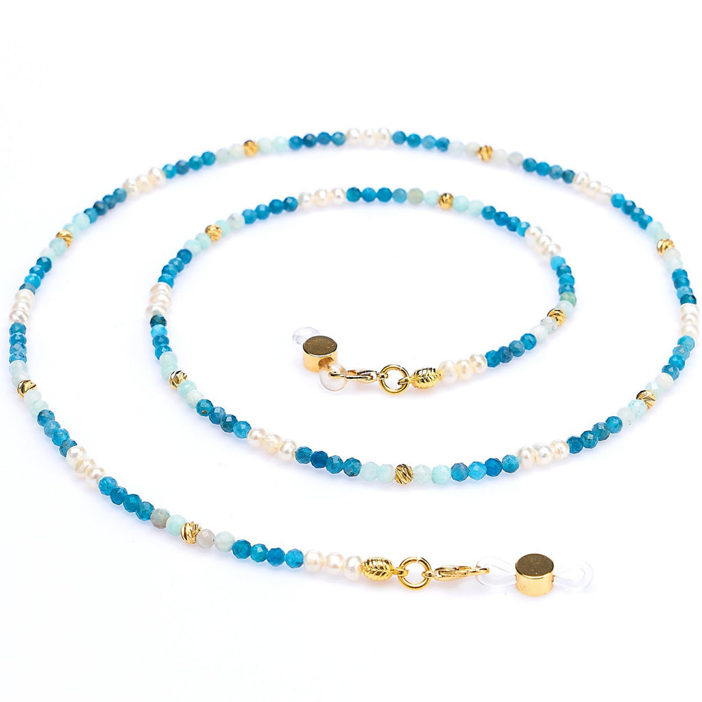 APATITE, AMAZONITE & PEARL - Rainbow Notting Hill