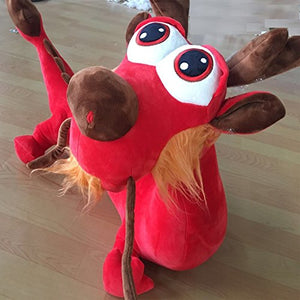 Yesbears Red Giant Dragon Stuffed Animal (45inches Microfiber Body)