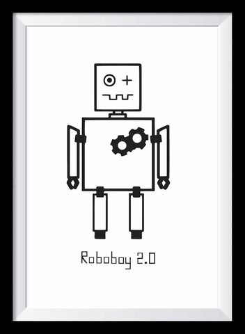 Roboter Poster