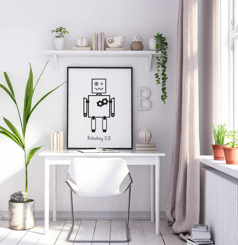 Poster Roboter