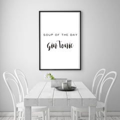 Gin Tonic Poster