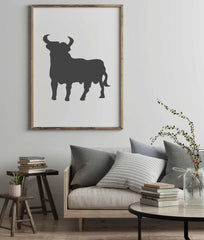 Poster Stier