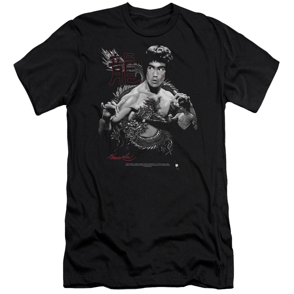 Bruce Lee - The Dragon Short Sleeve Adult 30/1