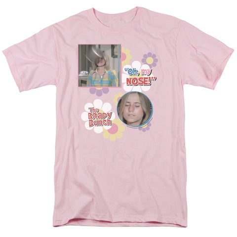 Brady Bunch - Oh, My Nose! Short Sleeve Adult 18/1