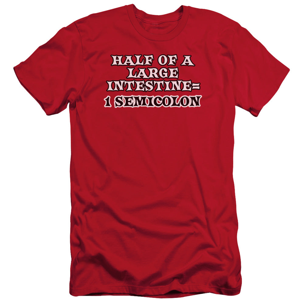 Meme - 1 Semicolon Short Sleeve Adult 30/1