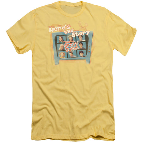 Brady Bunch - Here's The Story Short Sleeve Adult 30/1