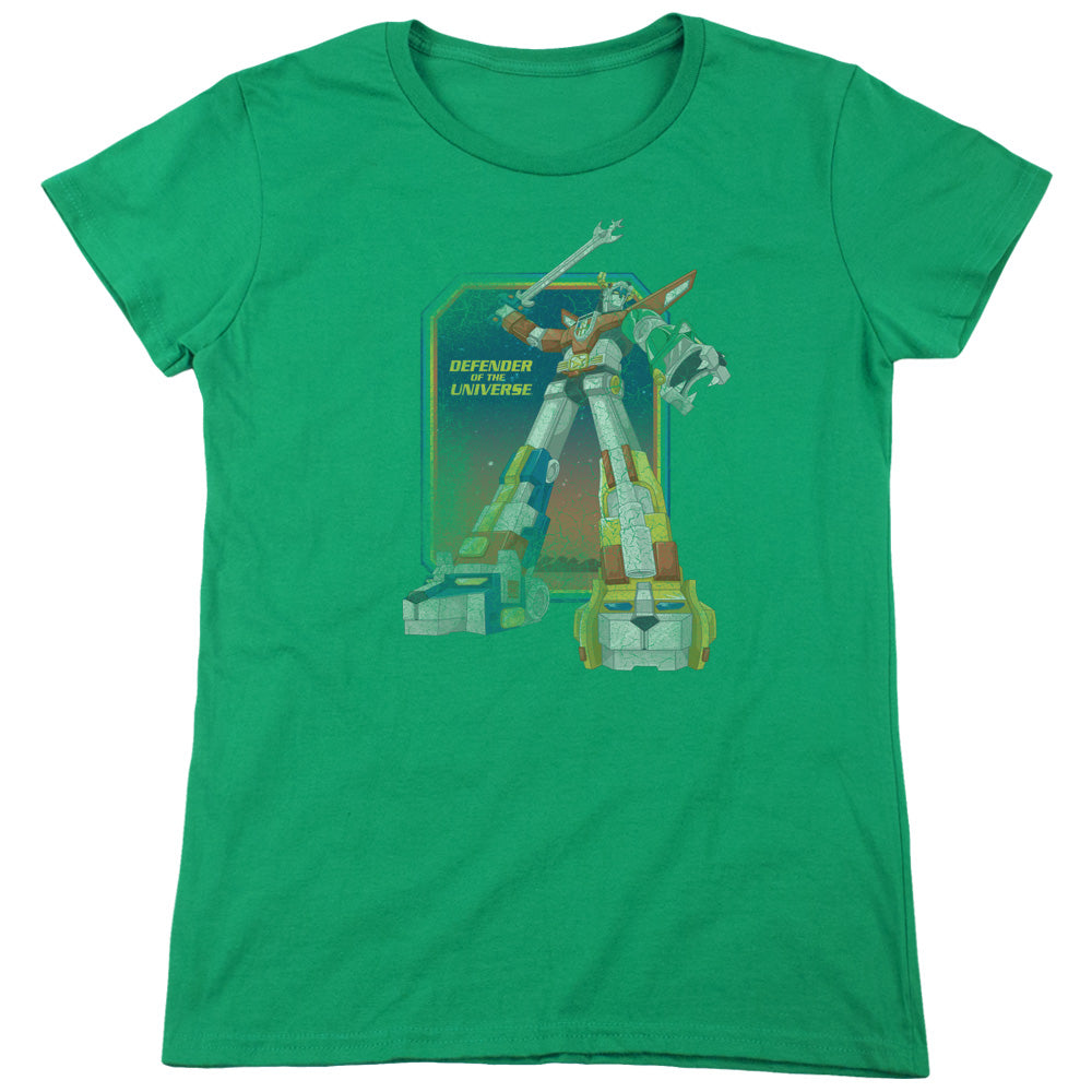 Voltron - Distressed Defender Short Sleeve Women's Tee