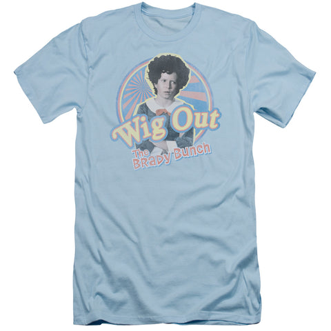Brady Bunch - Wig Out Short Sleeve Adult 30/1