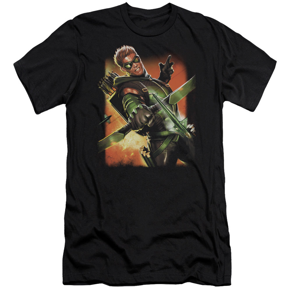 Jla - Green Arrow #1 Short Sleeve Adult 30/1