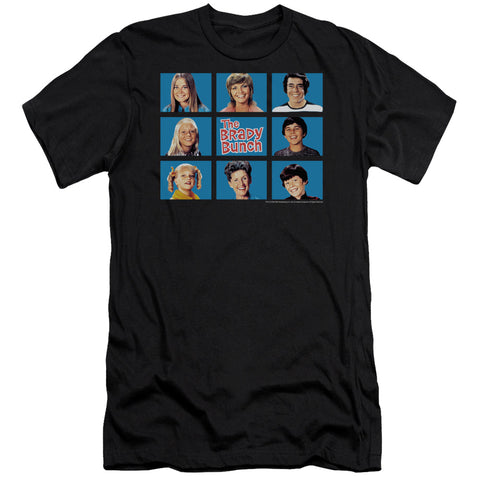 Brady Bunch - Framed Short Sleeve Adult 30/1