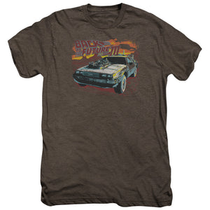 Back To The Future Iii - Wild West Adult Premium Tee