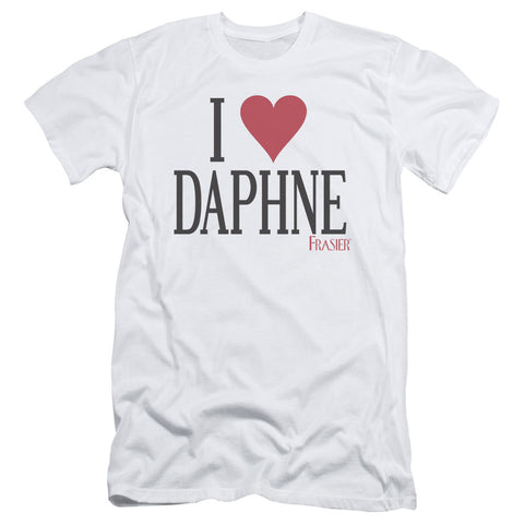 Frasier - I Heart Daphne Short Sleeve Adult 30/1