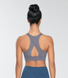 HELENA SPORTS BRA BLUE GRAY