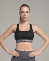 VENUS ULTIMATE WORKOUT MESH BRA - BLACK - FITLEGEND