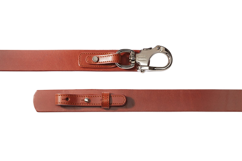 Snapshackle Belt // Bowline on Pull-Through Assembly - Jack Iron- Nautical Inspired