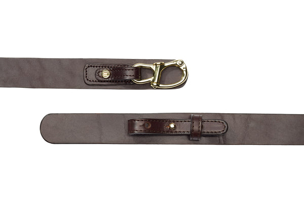Snapshackle Belt // Hitch on Pull-Through Assembly - Jack Iron- Nautical Inspired
