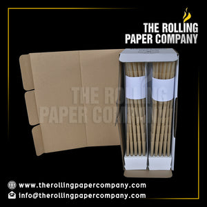 Pre Rolled Cones: 83 mm, Filter- 26 mm (1300 cones per box)