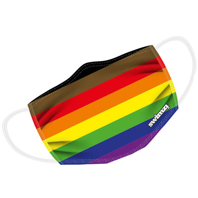 8 Colour/Inclusive Rainbow Flag Twin Layer Face Mask