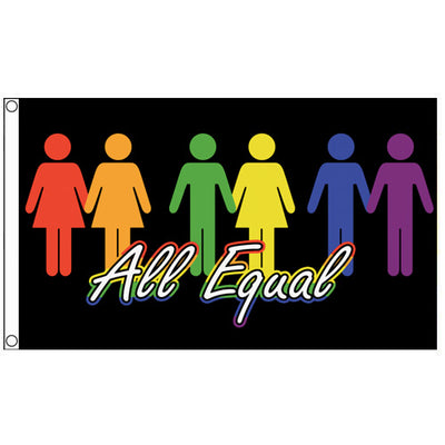 All Equal Flag (5ft x 3ft Premium)