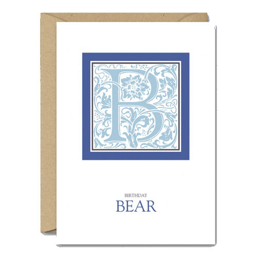 Birthday Bear - Gay Birthday Card