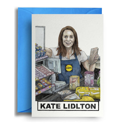 Kate Lidlton - Greetings Card