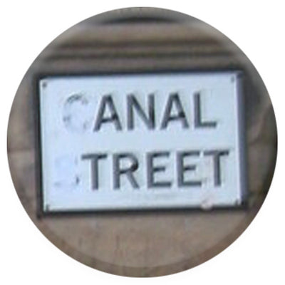 Anal Treet Small Pin Badge