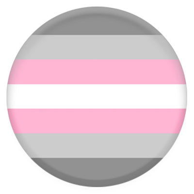 Demigirl Pride Flag Small Pin Badge