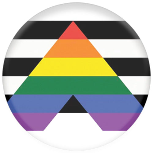 Straight Ally Flag Small Pin Badge