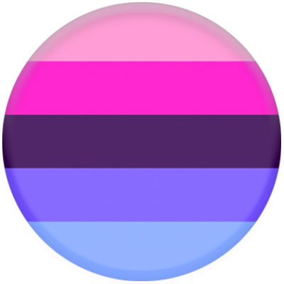 Omnisexual Flag Small Pin Badge