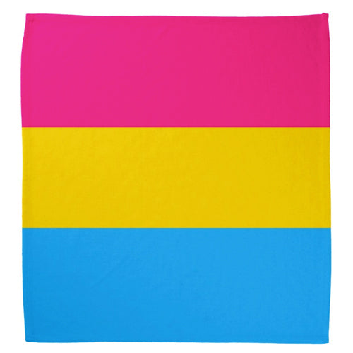 Pansexual Flag Cotton Bandana