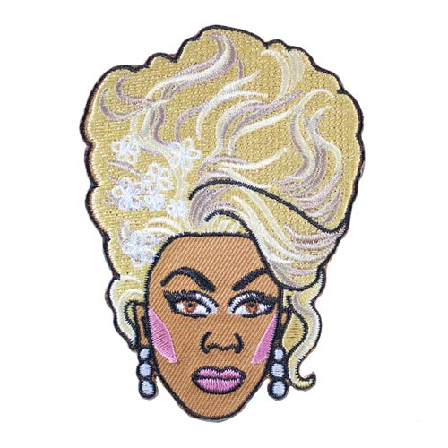 Rupaul Embroidered Patch