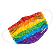 Gay Pride Rainbow Twin Layer Face Mask